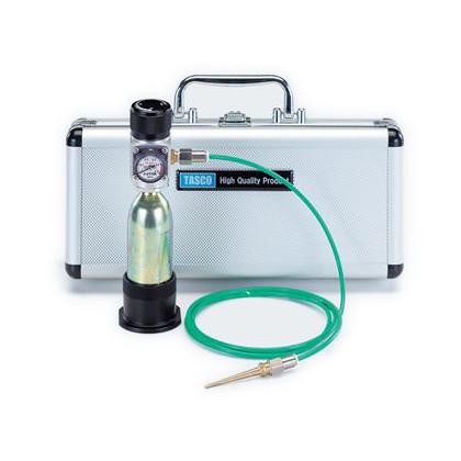 タスコ 小型冷蔵庫、小型エアコンメンテナンス用携帯チッソブローキット  TA376MB