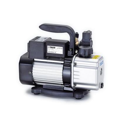 タスコ オイル逆流防止弁付小型高性能ツーステージ真空ポンプ 幅×奥行×高さ:287×114×203mm TA150RB