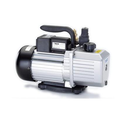 タスコ オイル逆流防止弁付高性能ツーステージ真空ポンプ 幅×奥行×高さ:378×145×270mm TA150RD