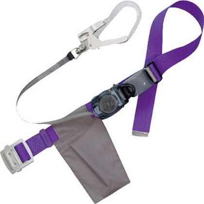 ツヨロン リトライト安全帯 紫色 軽量型 (RL-593K-P-BP)