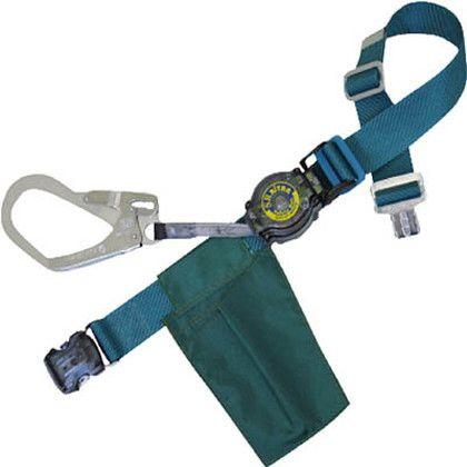 ツヨロン SRリトラ安全帯 青緑色 (SRN-OT599-BG-BP)