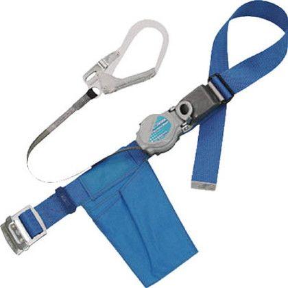 ツヨロン 2WAYリトラ安全帯 青色 LL寸 (TRN-599-BL4-LL-BP)