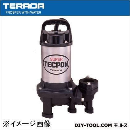 寺田ポンプ ステンレス汚物ポンプ50HZ(汚物混入水用水中ポンプ)  PX-400