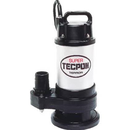 寺田ポンプ 汚物混入水用水中ポンプ(水中スーパーテクポン)非自動 50Hz  CX-400T