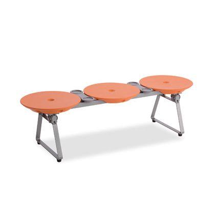 テラモト ディスクベンチ フォールディングタイプ オレンジ BC3094135
