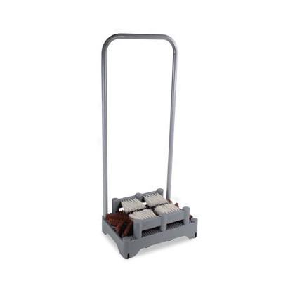 テラモト ユキドロオトシサイドブラシ1段タイプ 256×378×H880mm MR-178-020-0
