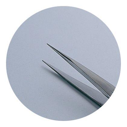 GISUKE ステンレス マイクロピンセット 直 115mm H201×W42×D8(mm)
