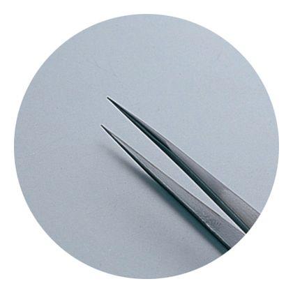 GISUKE ステンレス マイクロピンセット 極細 140mm H201×W42×D8(mm)