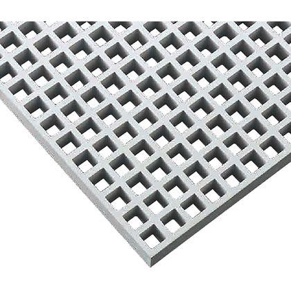 中部コーポレーション FRPグレーチング 定尺パネル寸法:2007x1007x25mm ライトグレー FG25K