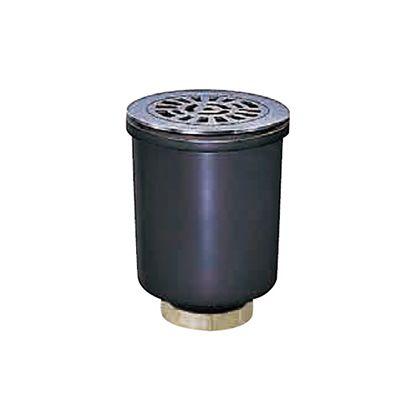 中部コーポレーション 排水トラップ 単位(mm)呼ビ径:50(2)本体サイズ:寸法D/62、寸法H/165、寸法h/5最小9~17、寸法T/4.0受枠:寸法A/124ストレーナ:寸法B/102、寸法t/4.0 T14A-A-50