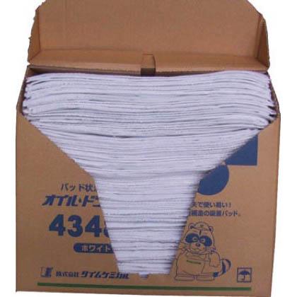 【同梱不可】 タイムケミカル 4348N TC オイルドライパッド(43cm×48cm×100枚) ホワイト 1 4348N 1箱 4348N 4348N 1 箱, BESIDEインテリアショップ:4d8537b4 --- ryusyokai.sk