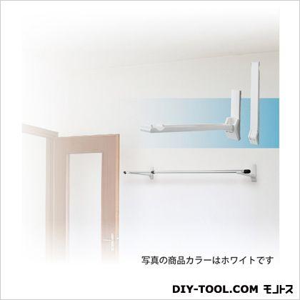DRY WAVE ランドリーフック 壁面用タイプ(見付けタイプ) ホワイト 最大出幅345.5mm KF30[W] 1 組