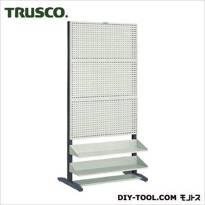 トラスコ パンチングラック棚板付タイプ両面  UPR6004