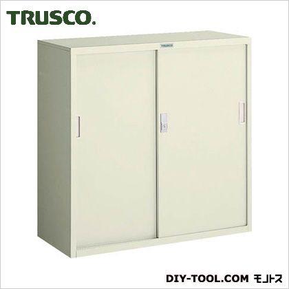 TRUSCO 耐薬品保管庫スチール引違型880X400XH880  T-303D