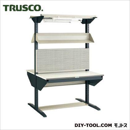 ULRT-W1200F トラスコ(TRUSCO) ライン作業台両面パネル・傾斜棚型W1200