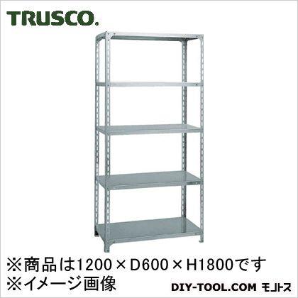 トラスコ(TRUSCO) SUS430製軽量棚1200XD600XH1800天地5段 600 x 1800 x 300 mm SU4-6465