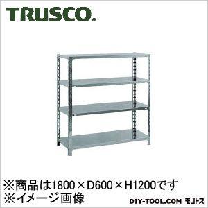 トラスコ(TRUSCO) SUS304製軽量棚1800XD600XH1200天地4段 600 x 1800 x 250 mm SU34664