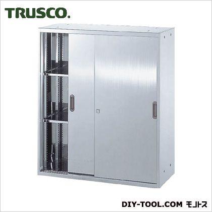 ※法人専用品※トラスコ(TRUSCO) ステンレス保管庫(D500)引違900XH1050 520 x 920 x 1065 mm STS511