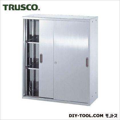 ※法人専用品※トラスコ(TRUSCO) ステンレス保管庫(D400)引違900XH1050 420 x 920 x 1065 mm