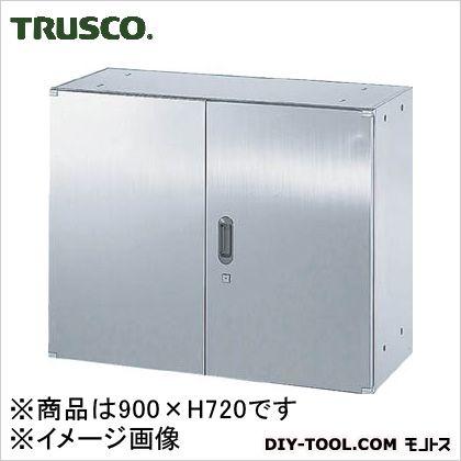 ※法人専用品※トラスコ(TRUSCO) ステンレス保管庫(D500)両開900XH720 520 x 920 x 735 mm STH57 1