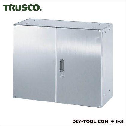 ※法人専用品※トラスコ(TRUSCO) ステンレス保管庫(D400)両開900XH720 420 x 920 x 735 mm