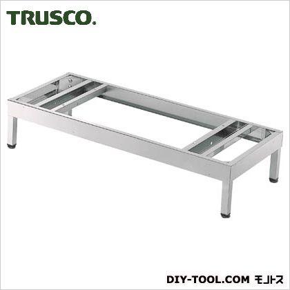 ※法人専用品※トラスコ(TRUSCO) ステンレス保管庫(D400)ベース脚付900XH190