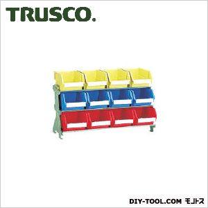 トラスコ 片面卓上型コンテナラック 大棚3 高さ405 UJ430