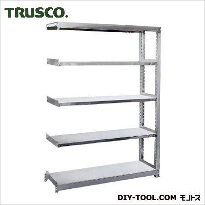 トラスコ(TRUSCO) ステンレス軽中量棚増結W1160XD450XH18005段 450 x 1800 x 300 mm SM2-6445B 1台