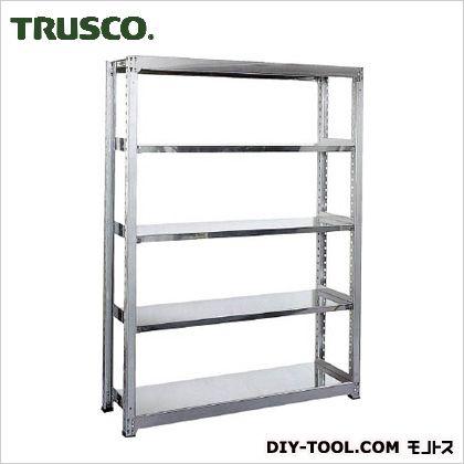 トラスコ(TRUSCO) ステンレス軽中量棚単体W860XD450XH18005段 450 x 1800 x 300 mm SM2-6345 1台