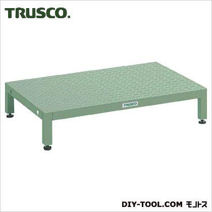 トラスコ 高床用縞鋼板ステップ 1200×600×190?220 UFSH1260S