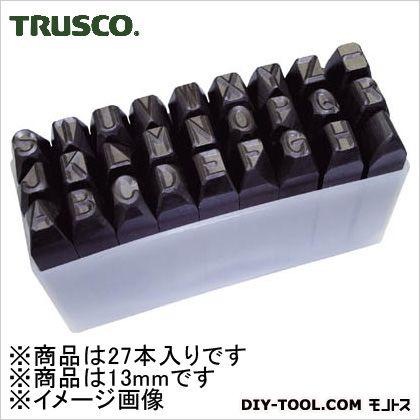 トラスコ(TRUSCO) 逆英字刻印セット13mm 157 x 97 x 60 mm SKC130 1S