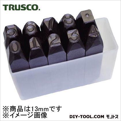 トラスコ 逆数字刻印セット 13mm SKB130