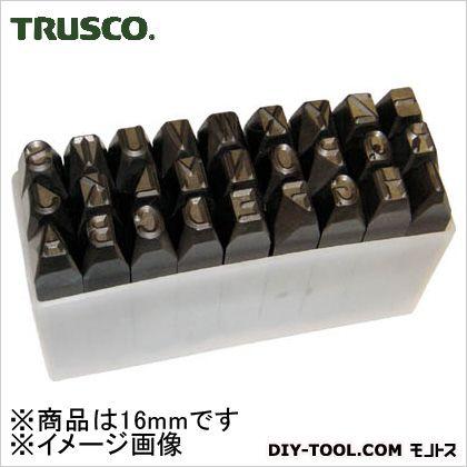 TRUSCO 英字刻印セット16mm  SKA-160 1 S