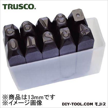 トラスコ(TRUSCO) 数字刻印セット13mm 102 x 96 x 39 mm SK130 1S