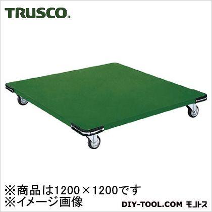 トラスコ 鉄板平台車 1200×1200 SHT1212H
