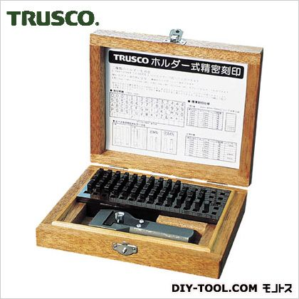 x 221 ホルダー式精密刻印4mm トラスコ(TRUSCO) SHK-40 mm 92 204 x