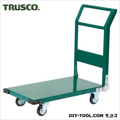 トラスコ 鋼鉄製運搬車 緑 800×450 SH3N