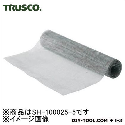 TRUSCO ステンレス平織金網線径Φ1.00X目9.16X5m巻  SH-100025-5