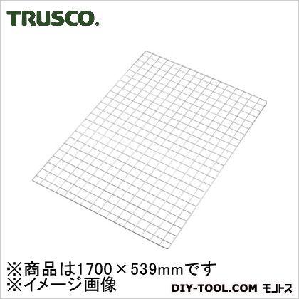 トラスコ SUS304ステンレスバックネット 1700×600 SESS1760