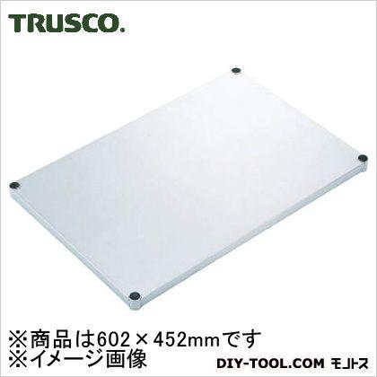 TRUSCO ステンレス製メッシュラック用ベタ棚板602X452  SES-23F