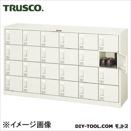 ※法人専用品※トラスコ(TRUSCO) シューズケース24人用1552X380XH880 390 x 1567 x 885 mm SC24