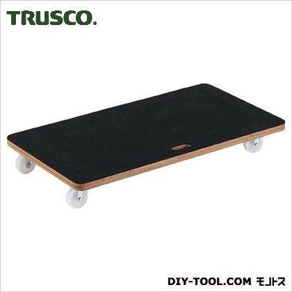 トラスコ 合板平台車プティカルゴゴム貼 450×900 PCG4590