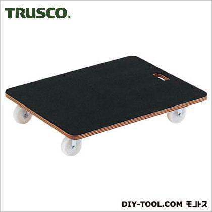 トラスコ 合板平台車プティカルゴゴム貼 450×600 PCG4560