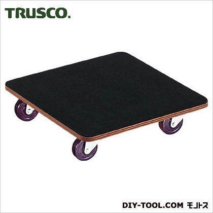 トラスコ 合板平台車プティカルゴゴム貼ゴム車輪 450×450 PCG4545G