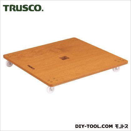 TRUSCO 合板平台車プティカルゴ900X900ナイロン車  PC-9090