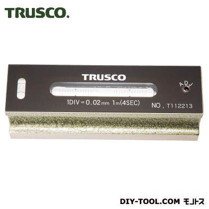 TRUSCO 平形精密水準器B級寸法150感度0.02  TFL-B1502