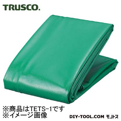 TRUSCO エステルトラックシート1t用幅2100mmX長さ3.1m  TETS-1