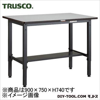 トラスコ 高さ調節作業台ダップ樹脂天  AWMP0975