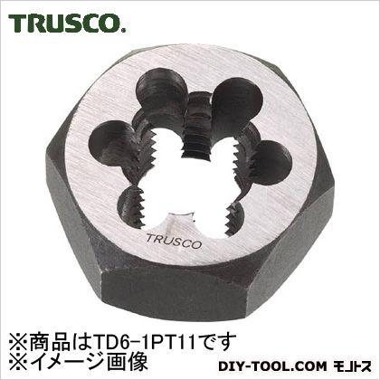 トラスコ ガス管用六角サラエナットダイス(PT)1PT11  TD61PT11