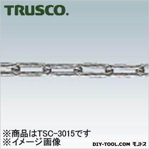 トラスコ ステンレスカットチェーン 3.0mm×15m TSC3015